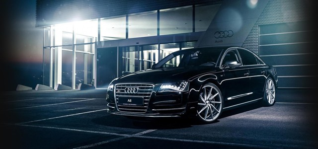 Audi A8 Black